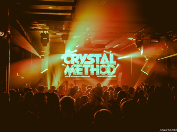 The Crystal Method // 10.6.18